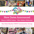 MY KIDS VIRTUAL MARKETS - NEW DATES ANNOUNCED