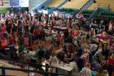 My Kids Market - Newcastle [Crowd and stalls]