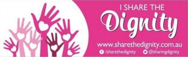 Share the Dignity logo